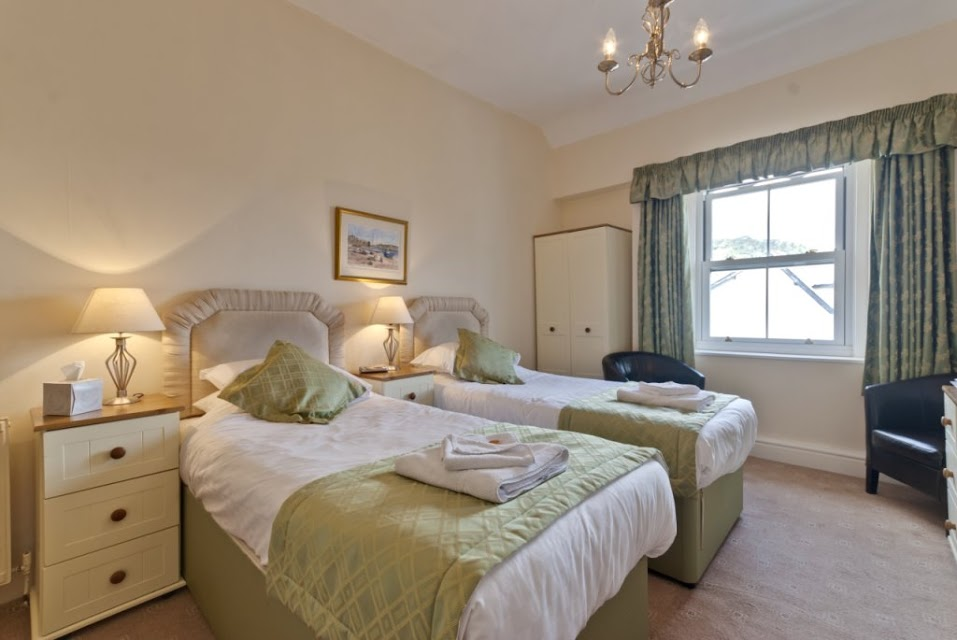 Twin Bedrooms Lansdowne Hotel Llandudno